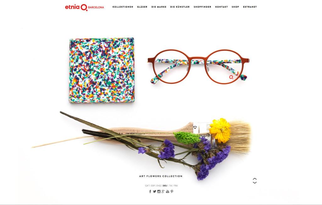 ethnia Barcelona gutes Webshop Design