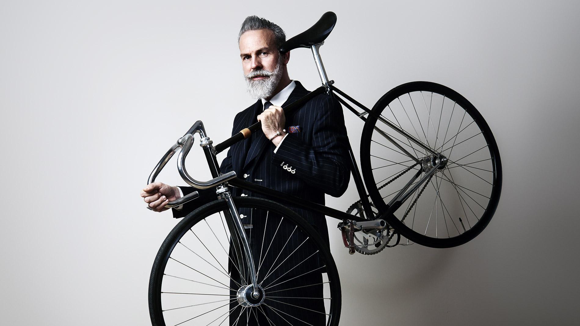 Bildbearbeitung Beispiel Fahrrad