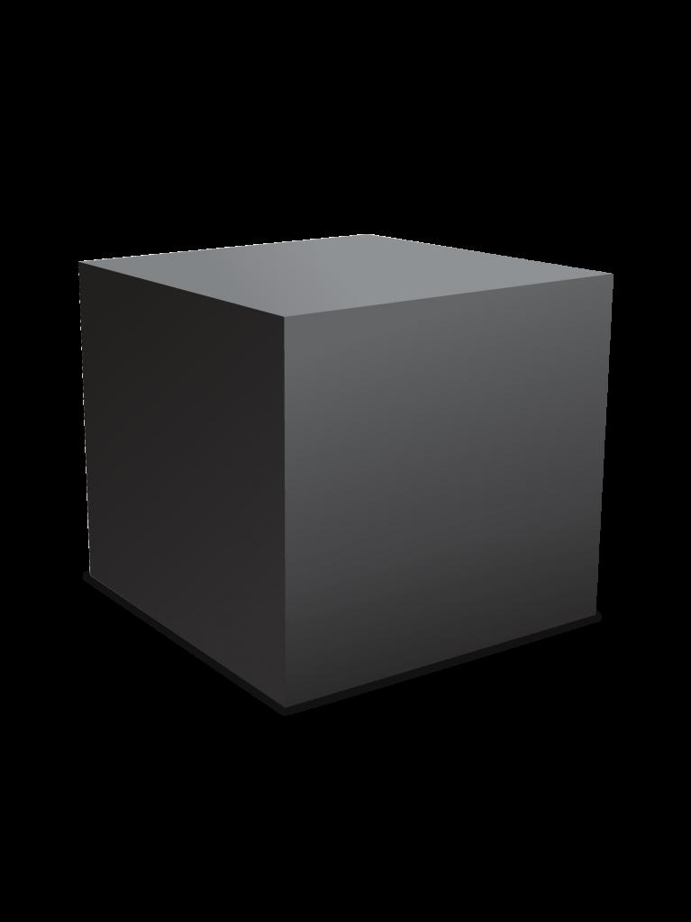 Sehr einfacher Produkt Freisteller - Kiste