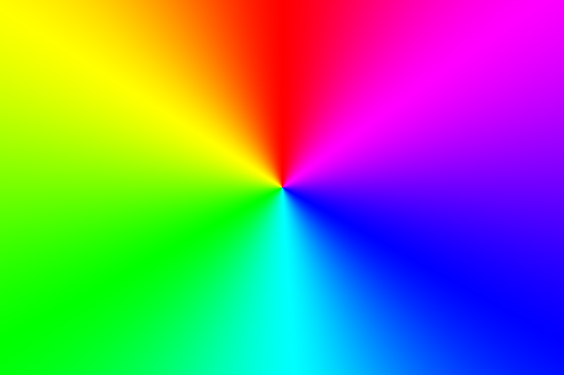 Radialer Farbverlauf